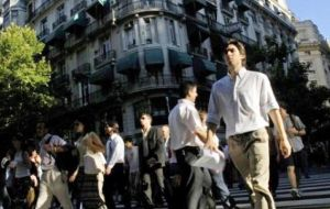 Argentina's middle class has gone from 15% of the total population in 2001 to 32.5% in 2011, accounting for an increase of 114% in ten years.
