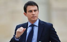 """The demonstrations of the past few days underline an anger, an anxiety, a distress that we have seen for a long time"", said Manuel Valls, France's PM"