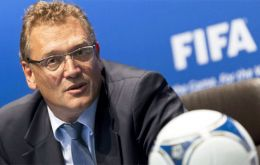 "Secretary-general Jerome Valcke said: ""The current situation doesn't help to finalize any new agreements."""