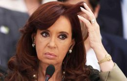 The head of state assured that she missed Monday's ceremony in Chubut on doctors' recommendations due to a bout of laryngitis.