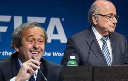 Platini declare his intention to run for the FIFA presidency after Blatter announced on July 20 that he would definitely step aside on Feb. 26.