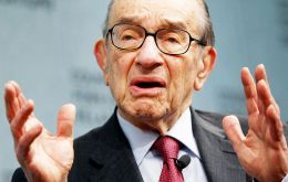 """To me the discussion today shouldn't be on monetary policy it should be on how do we constrain this extraordinary rise in entitlements"" said Greenspan"