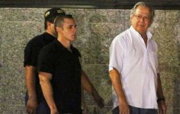Dirceu, popular former President Lula da Silva's chief of staff between 2003 and 2005, was already under house arrest for running a vote-buying scheme (Pic Reuter)