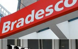 The deal between Bradesco and Europe's largest bank includes the latter's Brazilian retail banking and insurance units.