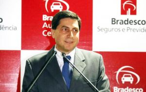 CEO Luiz Carlos Trabuco promised to integrate HSBC Brasil fully into Bradesco's retail banking insurance platform within the next three to four years