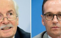 "Justice minister Heiko Maas (R) said he no longer had confidence in top prosecutor Harald Range, dismissing his statements as ""incomprehensible"". (Pic dpa)"