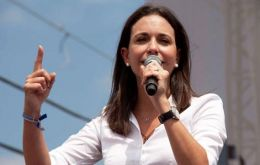 Opposition leader Maria Corina Machado said she had tried to register on Monday as a candidate but her application was rejected.