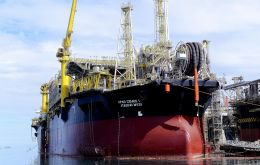 Cidade de Itaguaí is a floating, production, storage and offloading (FPSO) vessel, the sixth unit to start production across BG's discoveries in Santos Basin