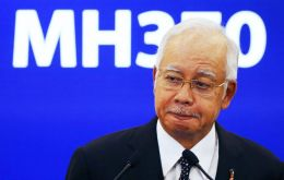"""Today, 515 days since the plane disappeared"" the aircraft debris found on Reunion Island is indeed from MH370, Najib said in a televised statement."
