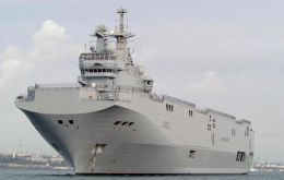 France stopped the planned sale of the two Mistral class helicopter carriers after the outbreak of the conflict in eastern Ukraine.