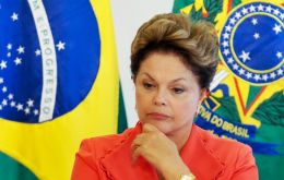 The public opinion poll showed Rousseff is the most unpopular democratically elected president since the end of Brazil's military dictatorship in 1985.