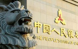 The People's Bank of China surprised the market on Tuesday weakening the fix on its daily reference rate for the Yuan by a record 1.9%.