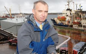Falklands put a lot of resources into regulating fisheries in Falkland waters and ensuring that fisheries are managed on a sustainable basis said Barton