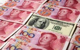 The PBoC set the Yuan fixing at 6.4010, compared to the previous day's close of 6.3870, sending the currency 0.7% lower to 6.43 per dollar in early trade.