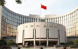 The Chinese central bank set the rate at 6.3975 Yuan per dollar compared to Thursday's close of 6.3982.