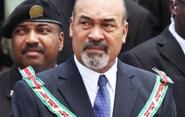 """We no longer want to depend primarily on market decisions such as the gold price controlling the price of alumina and the price of oil,"" said Bouterse"