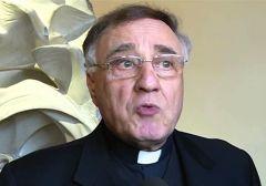 """Padre Benedettini ha sostenuto il Papa """"non ha nemmeno conto che aveva questo oggetto nelle sue mani. Egli ha scoperto questo solo ora dopo aver visto la fotografia """"."""