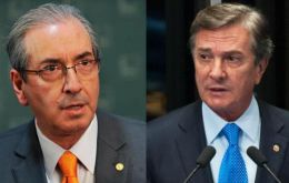 Cunha and Collor, now senators are among 50 politicians under investigation over a scheme that saw some $2bn illegally diverted from Petrobras accounts