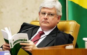 Attorney General Rodrigo Janot asked the Supreme Court to accept charges. Brazil's highest court is the only tribunal that can try senior elected officials.