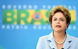 """The process of falling commodity prices due to adjustment in China will continue to burden the global economy for a long time"" said Rousseff"