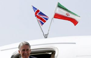 A trade delegation also travelled to Tehran with Hammond and the Exchequer Secretary to the Treasury Damian Hinds to discuss possible trade opportunities. (Pic Reuters)