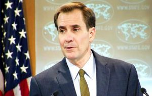 "State Department spokesman John Kirby said that while Cubans regularly voice their concerns, ""there are no plans to eliminate the visa program""."