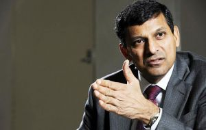 """In my country I'm faced with traditional central bank problems like inflation so we still have a handle to work with those,"" Mr. Rajan said."