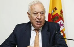 """We have taken measures that are bearing fruit and we are going to continue doing so"" said García-Margallo."