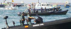 Nell'ultimo incidente provocatorio l'equipaggio di una nave doganale spagnola effettivamente sparato colpi e gettò mattoni in un crociera di pesca britannica di Gibilterra.