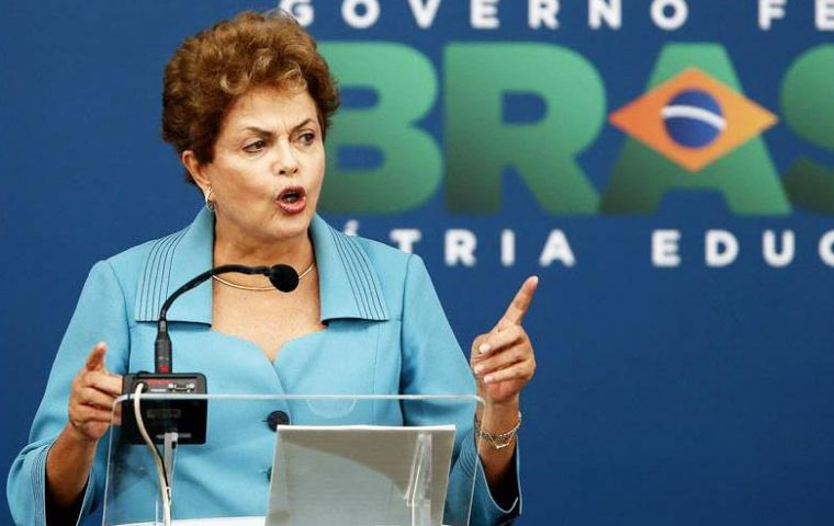 Sao Paulo newspapers said Rousseff abandoned the proposal because it realized there was no time to win its approval in Congress