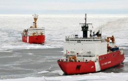U.S. Coast Guard used to have seven icebreakers, but the fleet has dwindled to three vessels, only one of which is heavy duty vessel, the White House said.