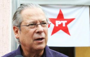 Dirceu is the most senior member of the ruling Workers' Party to be taken into custody in connection with the scheme.