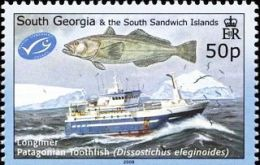 On September 4 (today), Toothfish Day is celebrated to follow the end of the toothfish season at South Georgia.