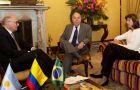 On Friday, Timerman and Vieira met with their Colombian counterpart in Bogotá, María Ángela Holguín.