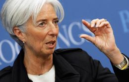"""The Fed has not raised interest rates in such a long time, that it should really do it for good, not give it a try and then have to come back,"" Lagarde said"