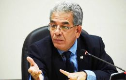 "Judge Miguel Angel Galvez said there was ""sufficient evidence"" Perez Molina was connected with a bribery scandal known as ""La Linea"""