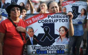 The decision is considered another victory for thousands of Guatemalans who have taken to the streets every week since April to demand Perez step down
