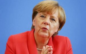 However Merkel said it was unacceptable for the EU to rely on just a few countries, such as Austria, Sweden and Germany
