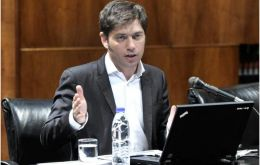 """It is a fundamental step against attacks of the vulture funds, which Argentina is suffering right now and which other countries could suffer"" said Kicillof"
