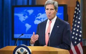 "In Washington Secretary of State John Kerry said the United States was ""deeply troubled"" by the conviction and sentencing."