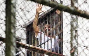 The opposition leader will serve his time at the Ramo Verde military prison outside Caracas, where he has been held since February 2014.