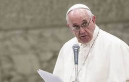 """The truth is that just 400 kilometers from Sicily there is an incredibly cruel terrorist group. So there is a danger of infiltration, this is true"" said Francis"
