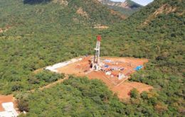 Caipipendi, Repsol's main natural gas-production project in Bolivia, yields around 18 million cubic meters (634.4 million cubic feet) per day