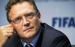 Newspaper allegations on Thursday implicated Valcke, 54, in a scheme to sell World Cup tickets for above face value.