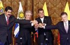 "The talks -- facilitated by Correa and Uruguayan President Tabare Vazquez -- lasted five hours and also saw an agreement of ""the situation on the border"""