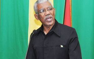President Granger urged Guyanese citizens close to the border with Venezuela to be alert and urged them to remain within the boundaries of Guyana.