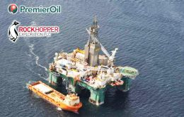 Premier Oil is the operator of the project with a 36% stake, with Falkland Oil and Gas holding a 40% stake and Rockhopper Exploration holding the balance.