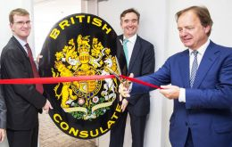 "Minister Hugo Swire said he was ""excited to open our new British Consulate General in Belo Horizonte, and to visit Minas Gerais for the first time""."