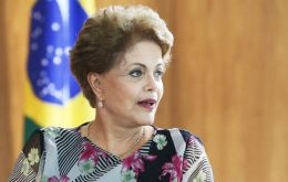 """Brazil today has sufficient enough reserves to not have any problem, any disruption due to the dollar,"" Rousseff said in an interview with GloboNews."