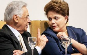 """I'm formally asking president Rousseff to show a gesture of greatness, otherwise this, as it is, won't stand much longer"", said Cardoso."